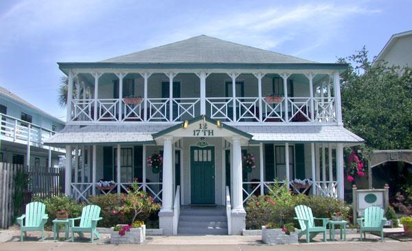 About 17th Street Inn Tybee Island Ga